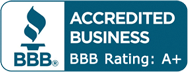 Accredited Business BBB Rating: A+